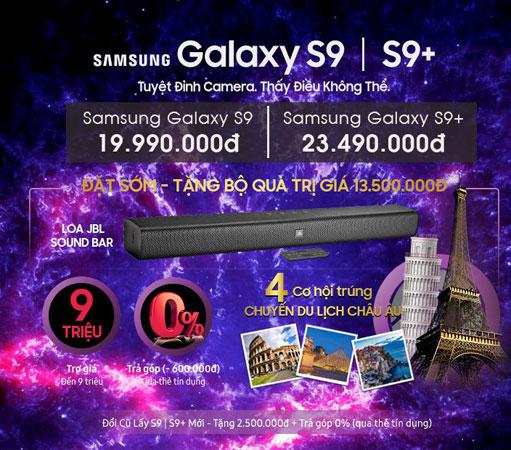 Đặt Samsung Galaxy S9|S9+